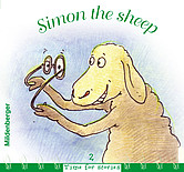 "Titelbild ""Time for stories, Heft 2: Simon the sheep"""