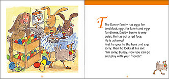 "Beispielseiten aus ""Time for stories, Heft 4: Happy Easter"""